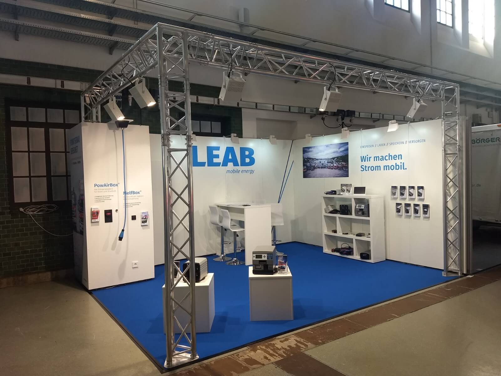 LEAB_Messestand
